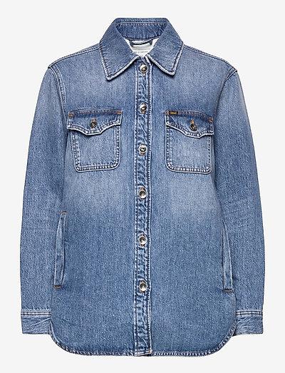 FENZ - jeansjakker - light blue