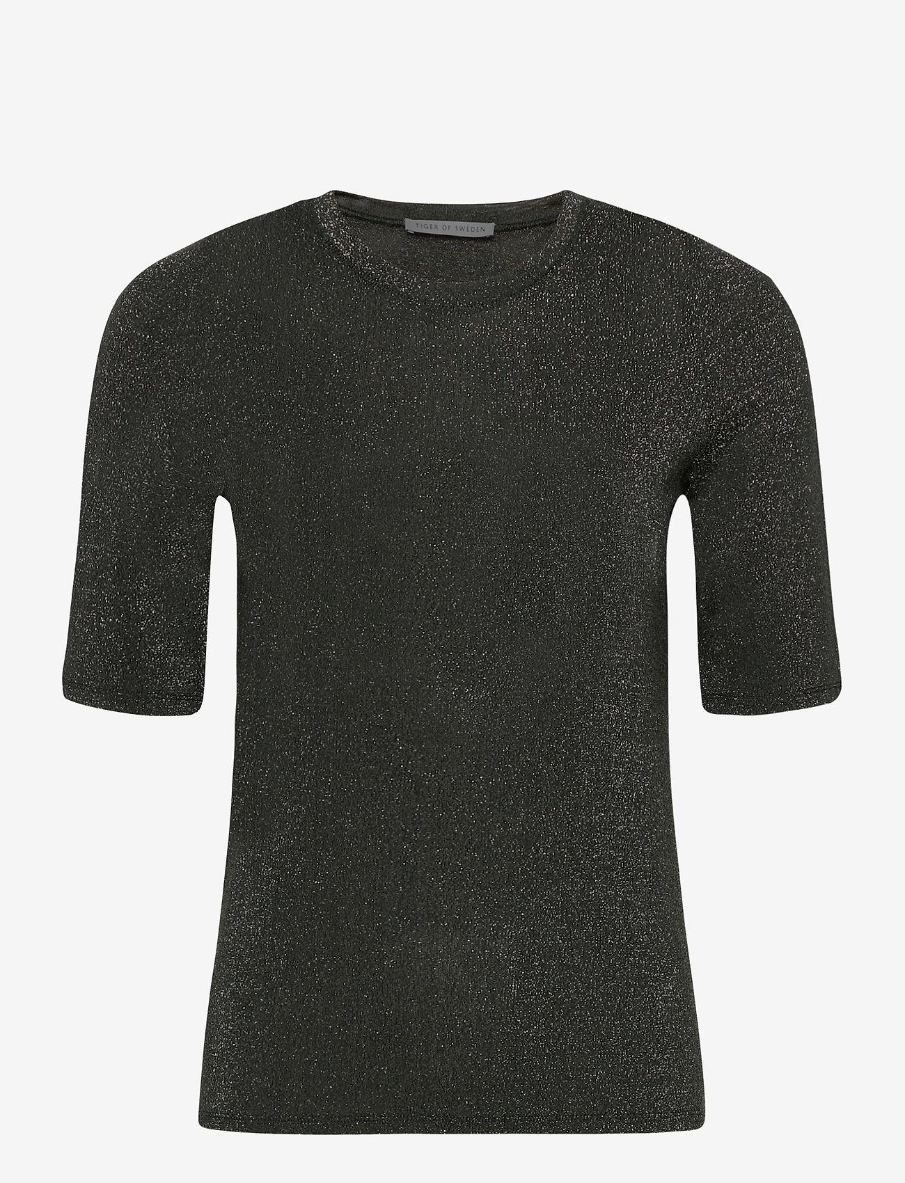 Tiger of Sweden - UBA - t-shirts - black green - 0
