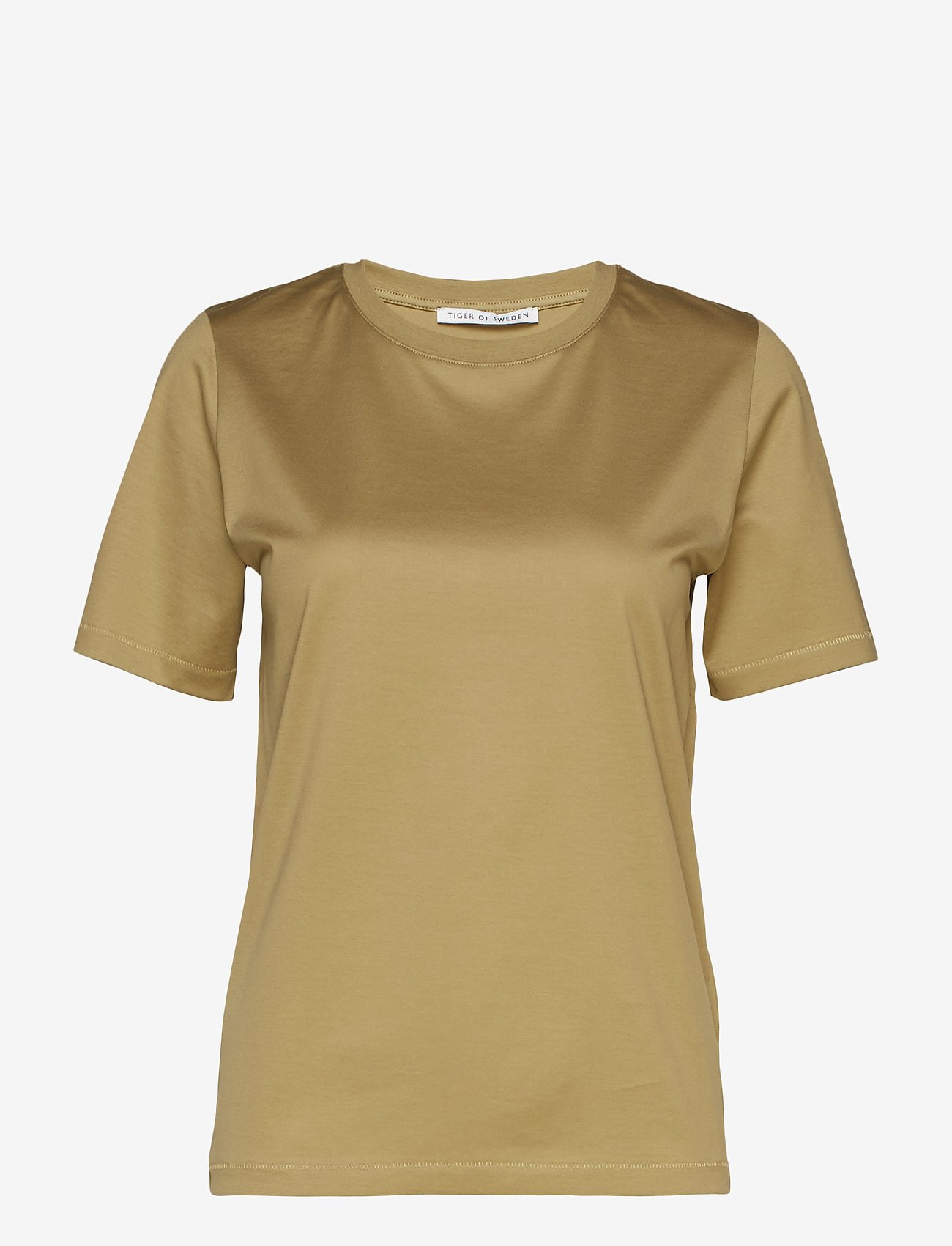 Tiger of Sweden - DEIRO - basic t-shirts - olive branch