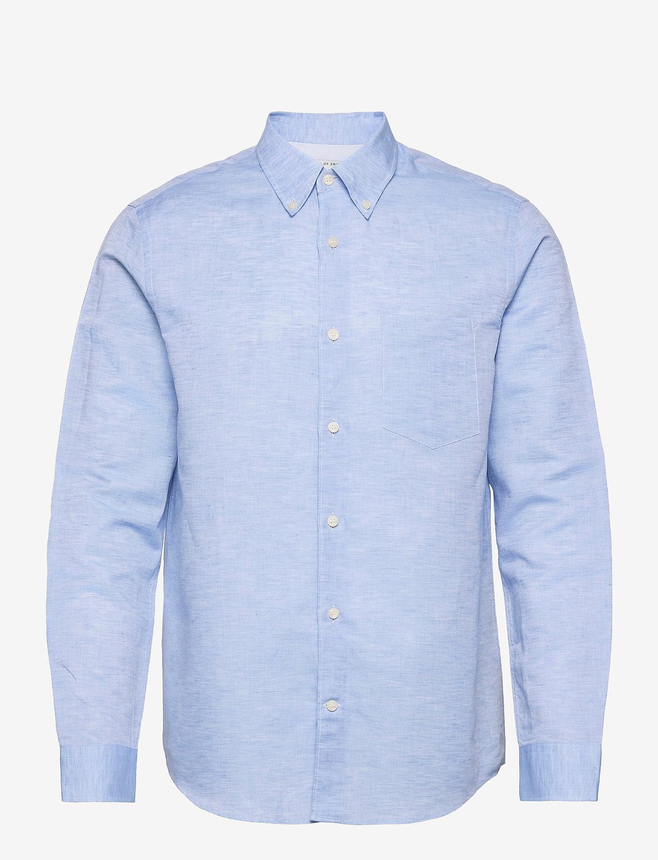 Tiger of Sweden - SANKT - oxford-skjorter - silver blue - 0