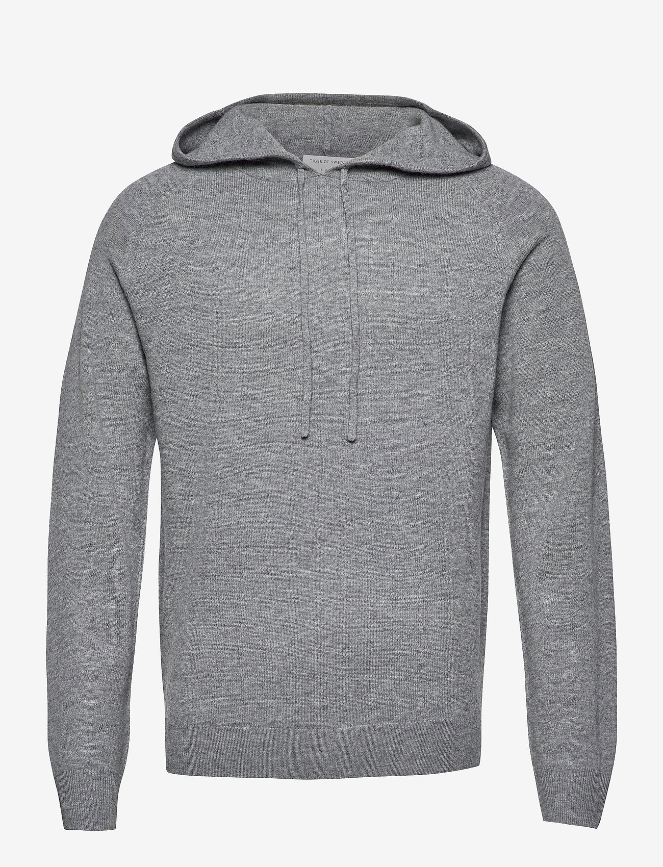 Tiger of Sweden - NAKKNE - basic sweatshirts - med grey mel - 0