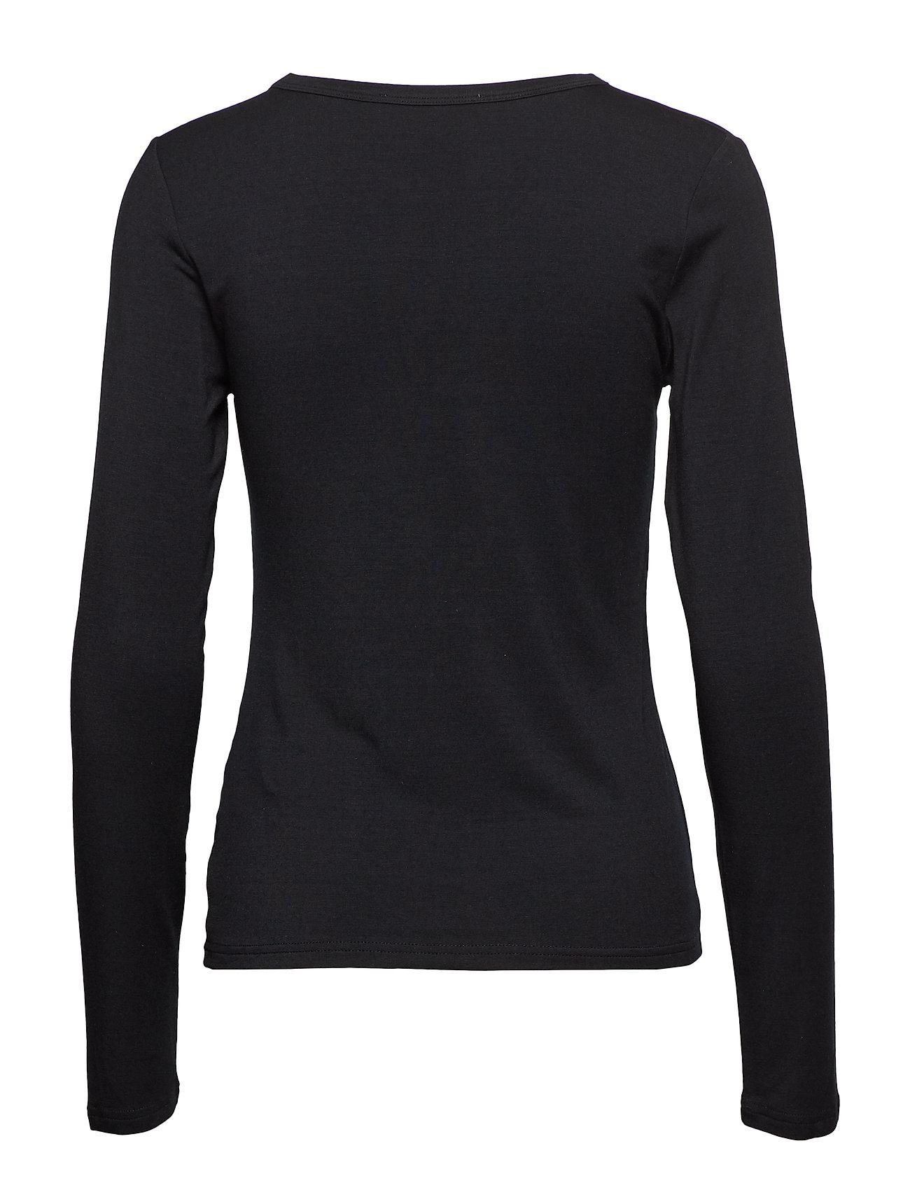 Hapalan Langærmet T shirt Sort TIGER OF SWEDEN