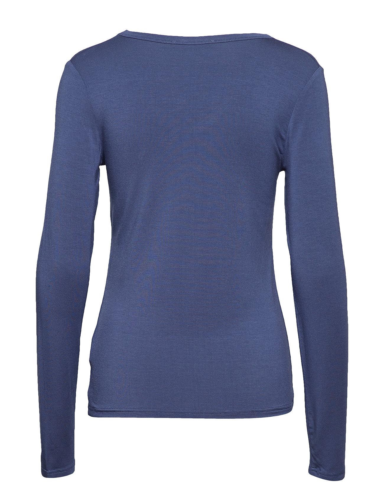 Hapalan Langærmet T shirt Blå TIGER OF SWEDEN