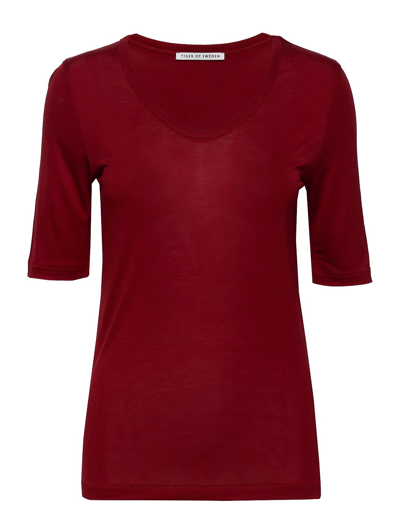 Image of Lerna T-shirt Top Rød Tiger Of Sweden (3416361861)