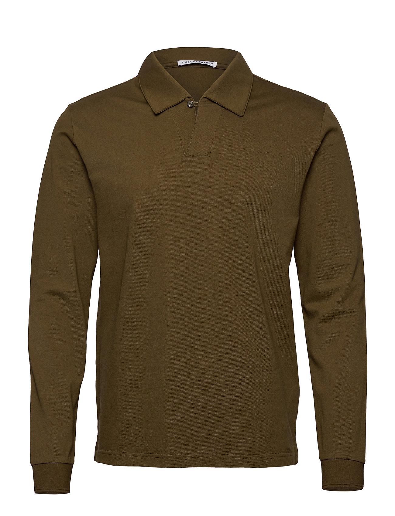 Image of Aderico Ls Polos Long-sleeved Grøn Tiger Of Sweden (3445309019)