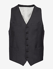 Tiger of Sweden - WOLMER - waistcoats - dark grey mel - 0
