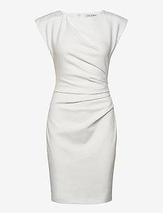 MI STRETCH - kurze kleider - bright white