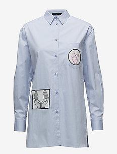 ALLURA - pitkähihaiset paidat - art deco blue