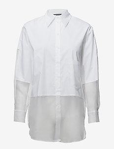 KAKIA - pitkähihaiset paidat - bright white