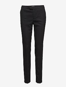 LOVANN 5 - spodnie proste - night black