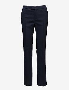 YULIA 4 - straight leg trousers - peacoat blue