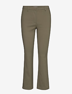 NOORA 2 - uitlopende broeken - dusty khaki