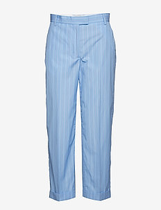 RODEZ - suorat housut - light blue