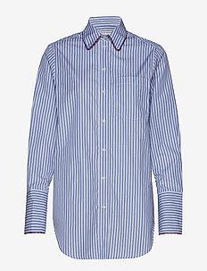 FLORENS C - pitkähihaiset paidat - blue