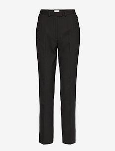 BERGENIA - slim fit spodnie - black