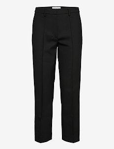 BARI - broeken med straight ben - black