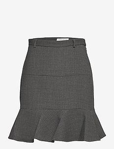 JAMESIA - jupes courtes - dark grey mel