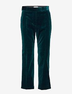 BALEA - vide bukser - scarab green