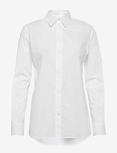 NARKISA - langermede skjorter - pure white