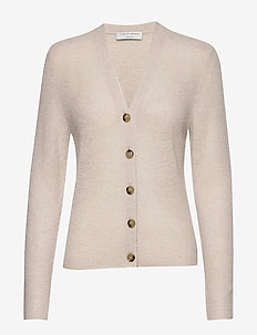 PERA - cardigans - light grey melange