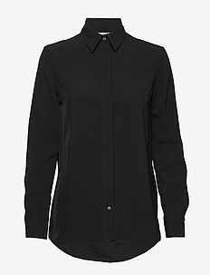 NARKISA - langermede skjorter - black