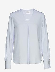 KASIA - blouses med lange mouwen - cloud blue