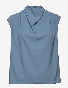 VOLON - blouses sans manches - mist blue