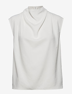 VOLON - Ärmellose blusen - pure white