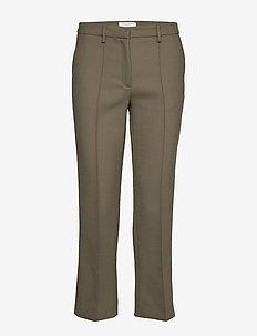 BARI - rette bukser - utility green