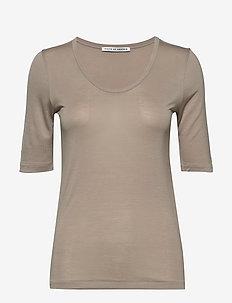 LERNA - t-shirts - pale mocha