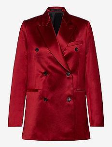 MOLEA - oversize blazers - noon red