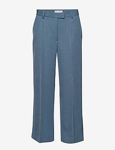 ROSARIA - vide bukser - mist blue