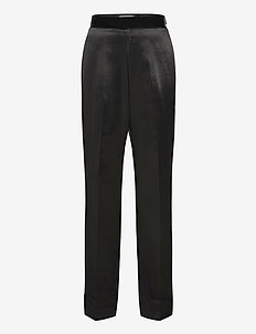 KANAN - rette bukser - black