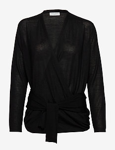 ELIZIE - swetry rozpinane - black