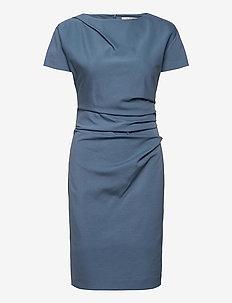 IZLO S - robes midi - mist blue
