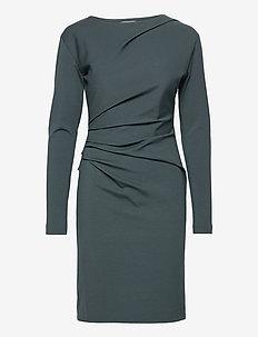 IZLA S - midi kjoler - scarab green