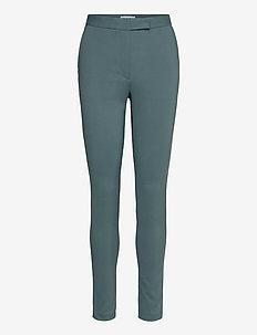 TAIKA - slim fit bukser - scarab green
