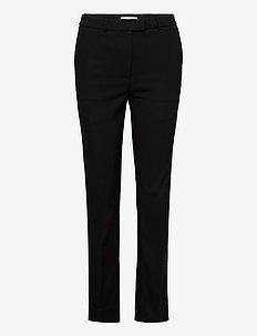 NOORA 3 - slim fit trousers - black