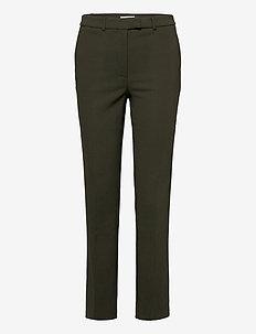 NOORA 3 - slim fit spodnie - kalamata