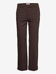 NOORA 3 - rette bukser - dusty brown