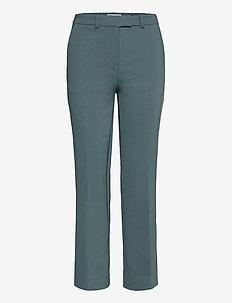 NOORA 3 - rette bukser - scarab green