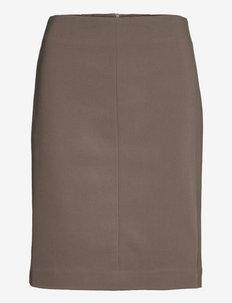 VIOLINA - midi skirts - mud