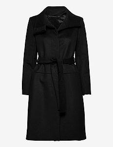 CORI - manteaux en laine - black