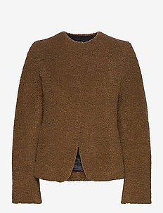 EWAR - faux fur - dusty brown