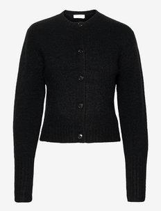 VIOGNIER A - cardigans - black