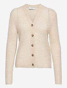 PERA - cardigans - soft beige