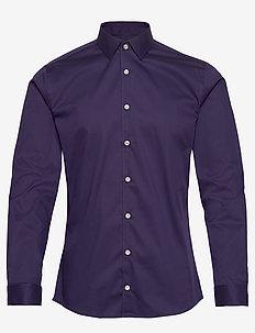 FILBRODIE - basic-hemden - deep purple