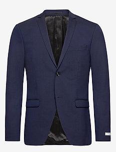 JIL 9 BZ - enkeltkneppede blazere - midnight blue/b.g
