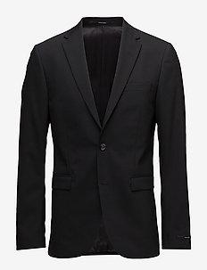 HENRIE.BZ - enkelknäppta kostymer - black