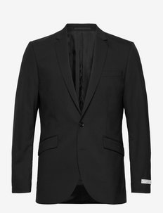 JAMES - single breasted blazers - black